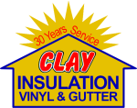 Clay Insulation - Vinyl & Gutter